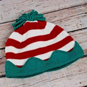 GYMBOREE CHRISTMAS HOLIDAY KNIT ELF BEANIE